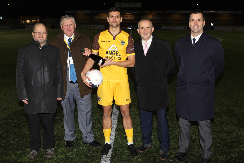 Sutton United FC, Man of the Match